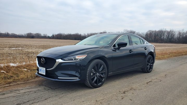 Review 2021 Mazda6 Kuro