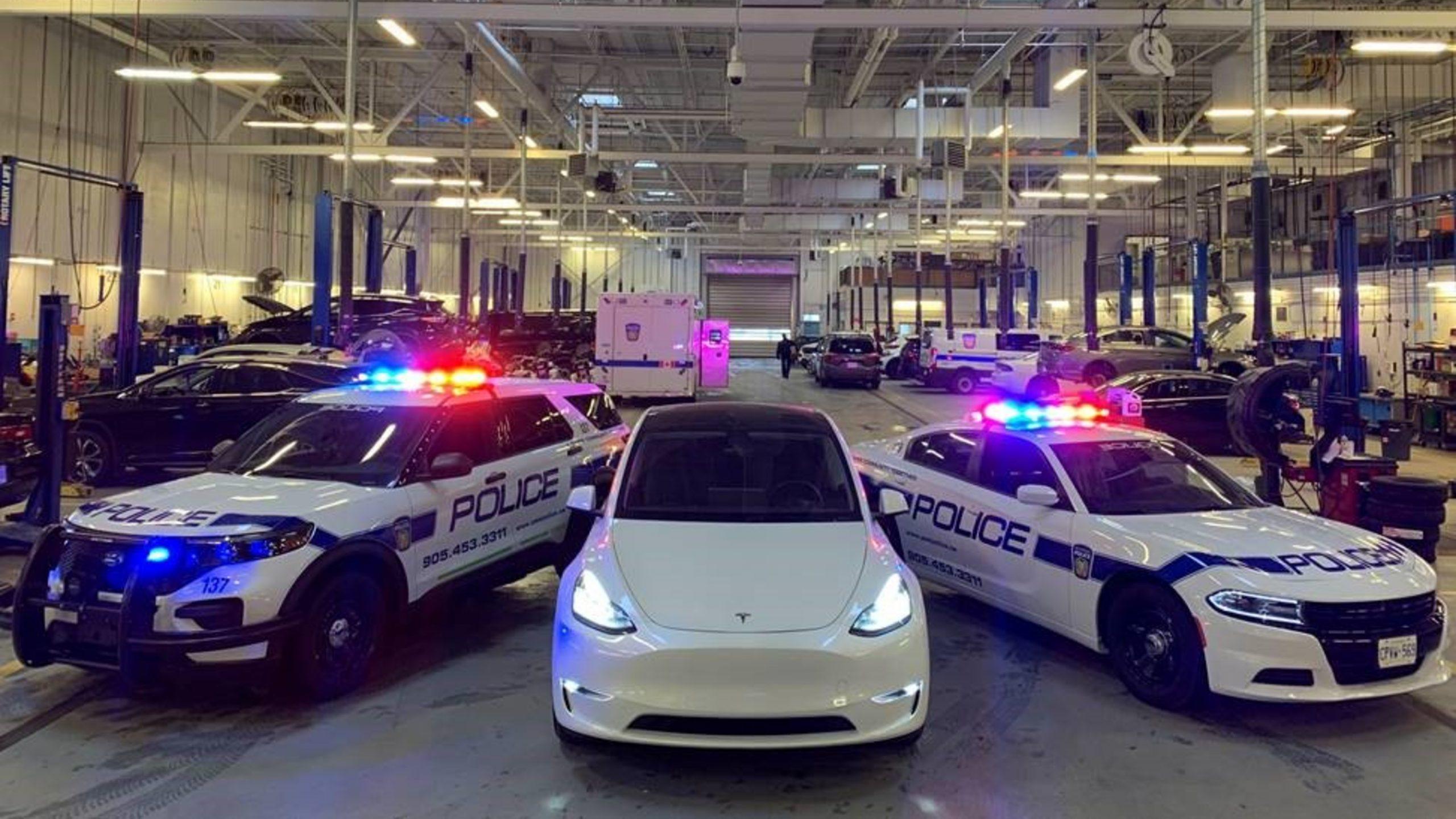 Peel Police evaluate Tesla