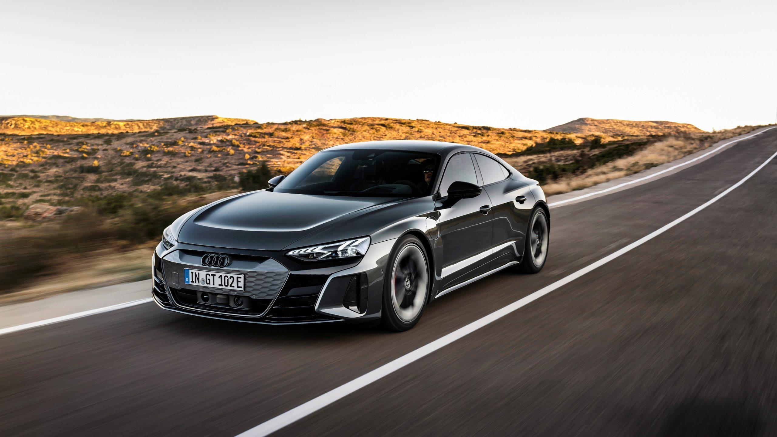 First Look Audi e-tron GT