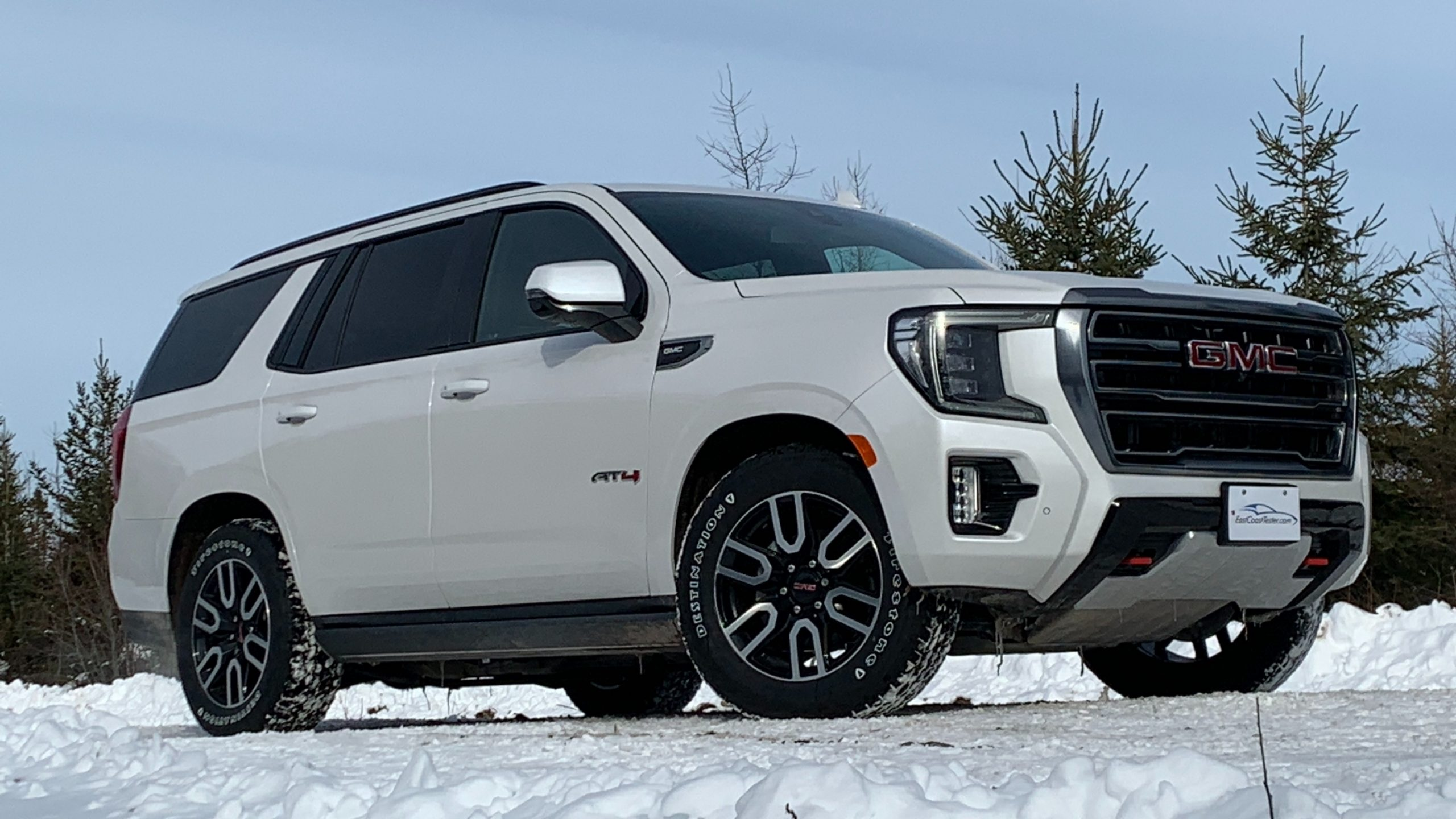 Review 2021 GMC Yukon AT4