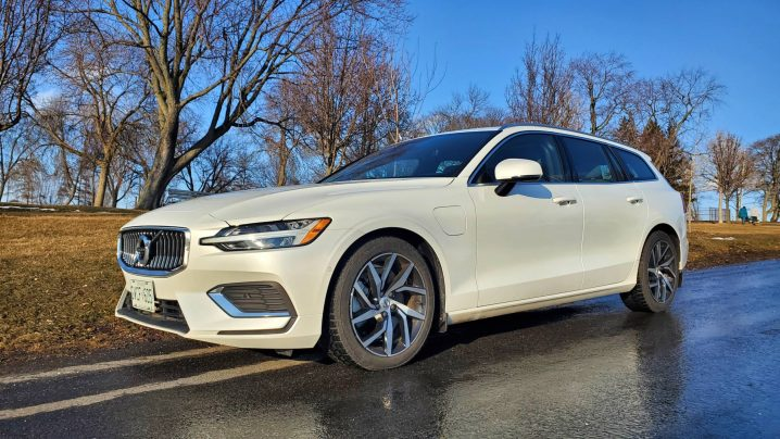 Review 2021 Volvo V60 Recharge