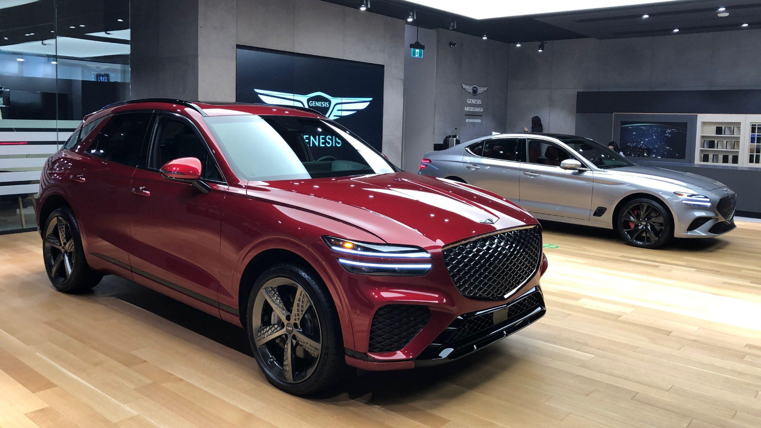 First Look 2022 Genesis GV70
