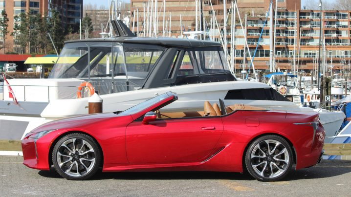 What Makes A Classic, Featuring the Lexus LC500 Convertible
