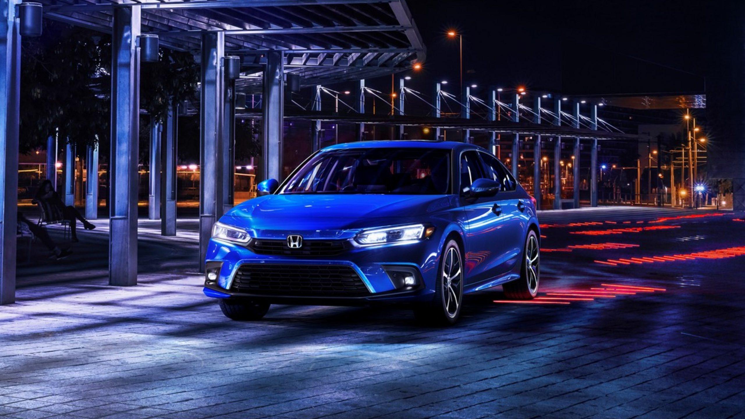 First Look 2022 Honda Civic Sedan