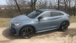 Review 2022 Infiniti QX55