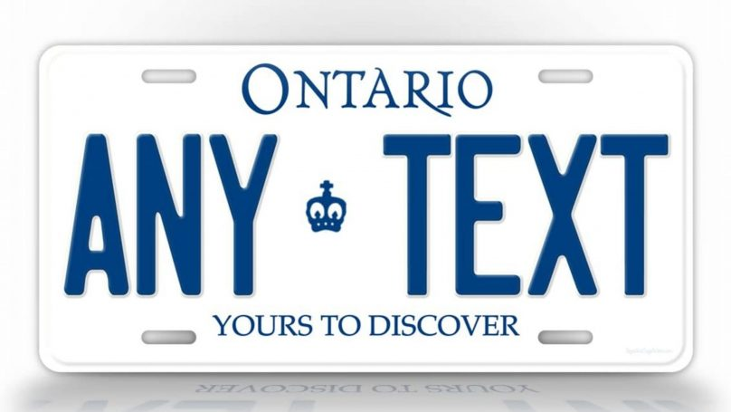 Ontario Plates 2