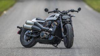 21 Harley davidson sportster