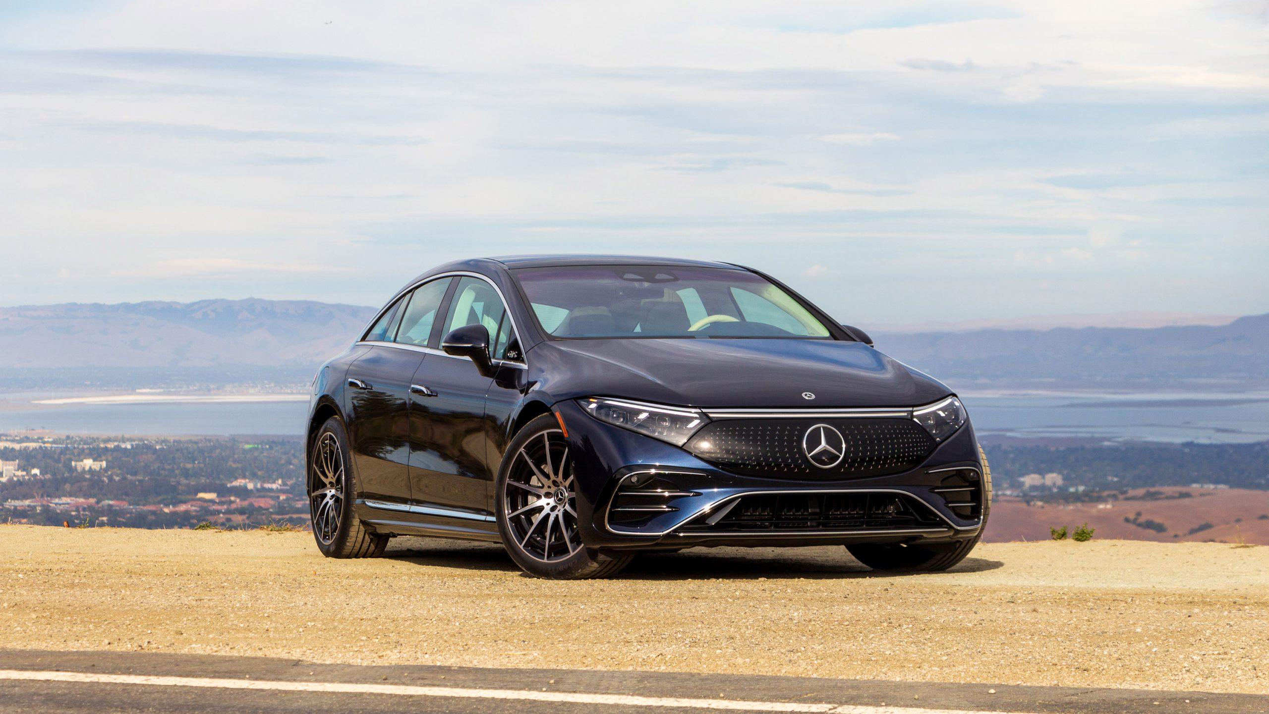 2022 Mercedes Benz EQS 580